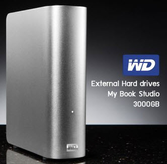 external HDD WD