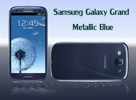 Samsung Galaxy Grand – Metallic Blue