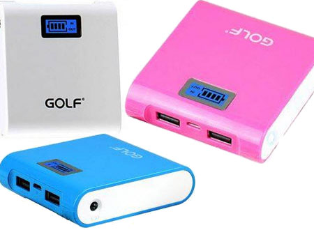 Golf Power Bank Portable GF-LCD03