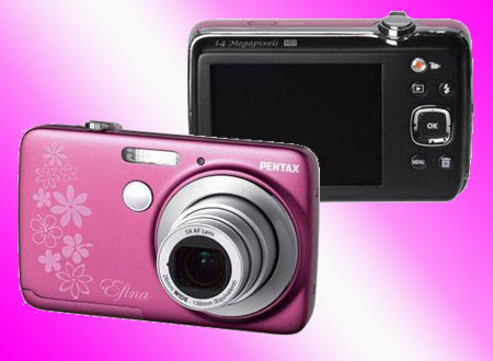 Pentax Efina Digital Camera-f