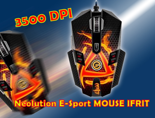 Neolution E-Sport MOUSE IFRIT 3500 DPI