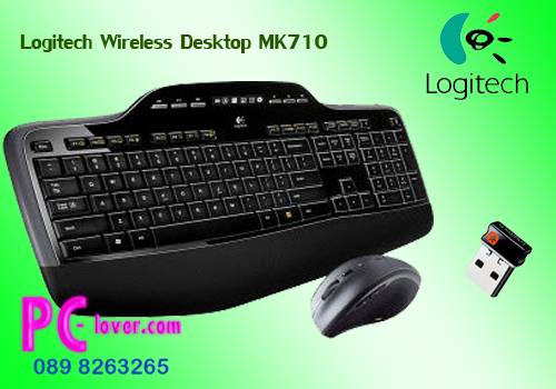 Logitech Wireless Desktop MK710-f