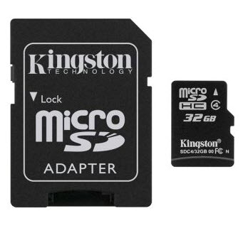 Kingston Micro SD Card Class 4  32 GB