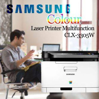 Samsung Colour Laser Printer Multifunction - CLX-3305W-2